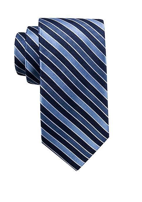 Big & Tall Orwell Stripe Extra Long Necktie