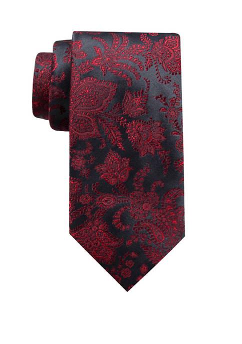 Saddlebred® Big & Tall Avianna Paisley XL Tie