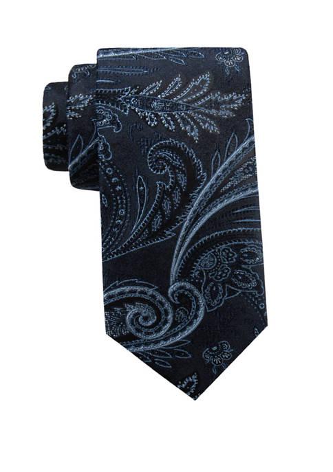 Saddlebred® Big & Tall Felix Paisley Tie