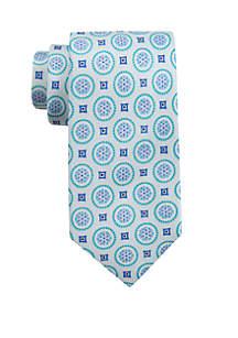 Saddlebred® Tucker Medallion Neck Tie