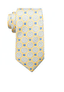 Tucker Medallion Neck Tie