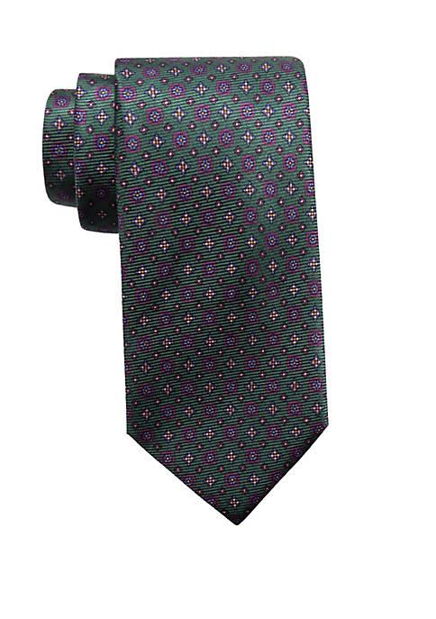 Saddlebred® Basil Neat Necktie