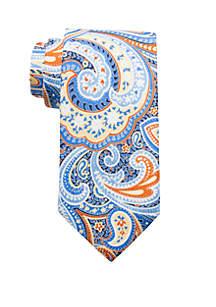 Saddlebred® Haven Paisley Print Neck Tie