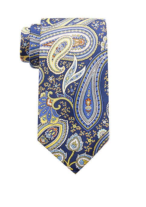 Saddlebred® Fiorello Paisley Print Neck Tie