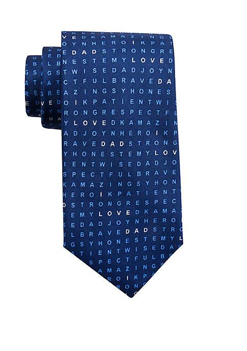 I Love Dad Necktie