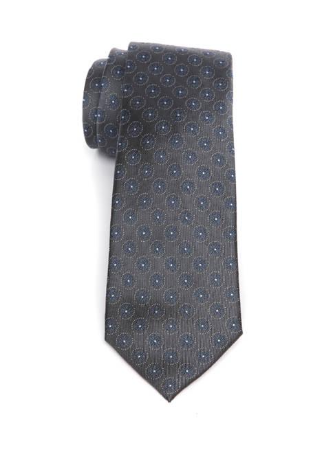 Ourson Medallion Tie