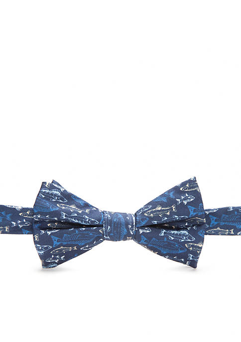 Saddlebred® Pre-Tied Harbour Fish Bow Tie