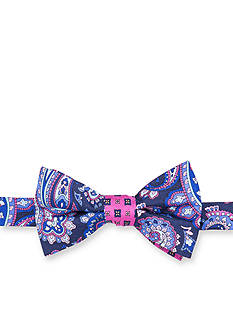Saddlebred® Geer Paisley Neat Bow Tie