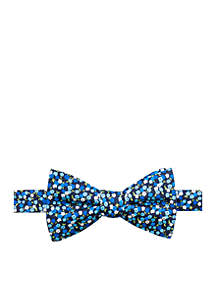 Aster Floral Bow Tie