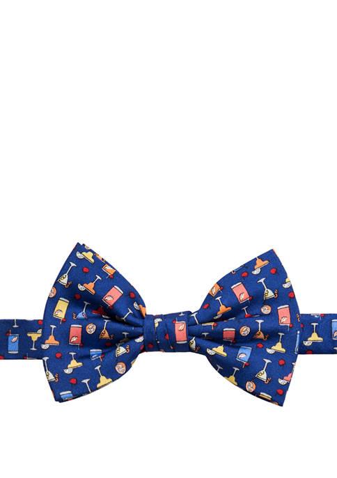 Saddlebred® Mens Cocktail Novelty Bow Tie