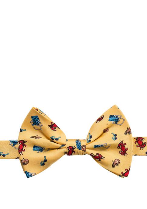 Saddlebred® Mens Backyard BBQ Novelty Bow Tie