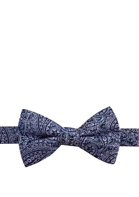 Marston Paisley Bow Tie