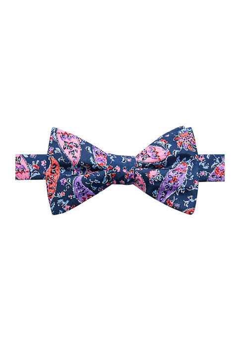 Crown & Ivy™ Paisley Bow Tie