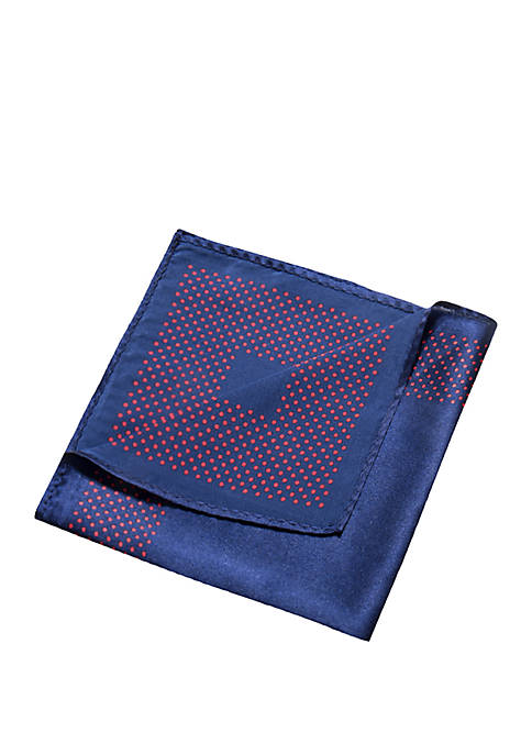 Saddlebred® Nicoli Dot Print Pocket Square