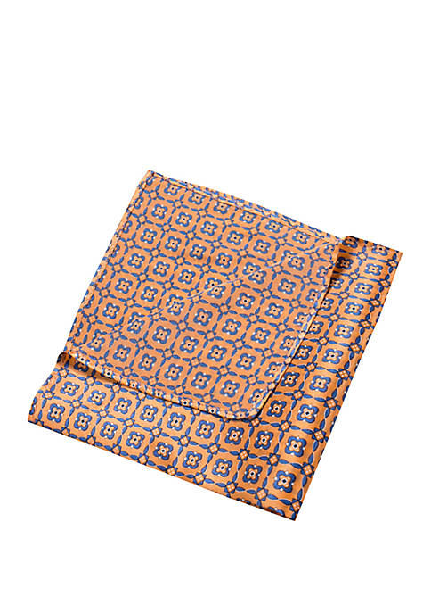 Ladoga Medallion Pocket Square