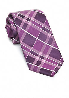 Saddlebred® Extra Long Plaid Tie