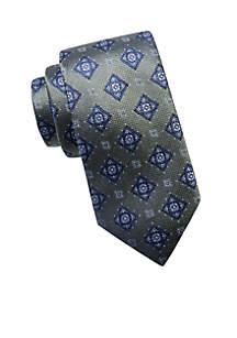 Big & Tall Extra Long Jacks Medallion Tie