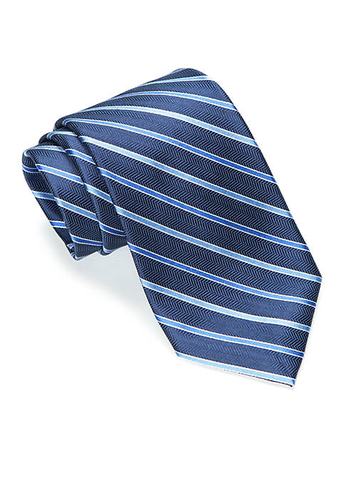 Saddlebred® Boston Stripe Tie