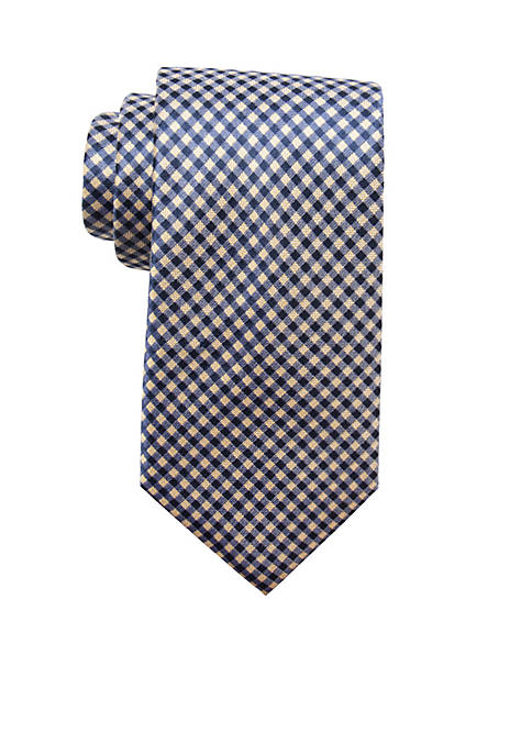 Saddlebred® Milly Check Tie