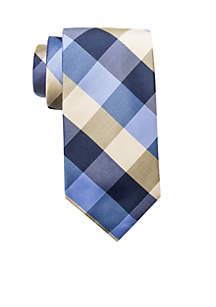 Aaron Check Plaid Tie