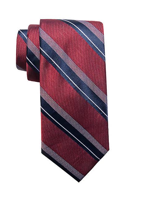 Saddlebred® Babek Stripe Necktie