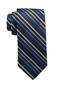 Thin Stripe Print Neck Tie