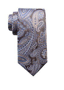 Saddlebred® Wyatt Paisley Print Neck Tie