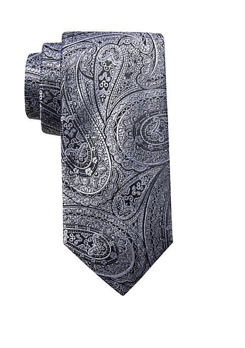 Wyatt Paisley Print Neck Tie