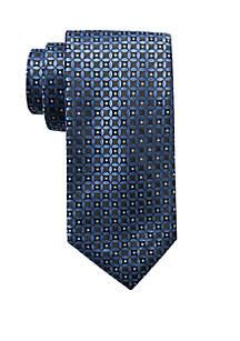 Wilton Medallion Print Neck Tie