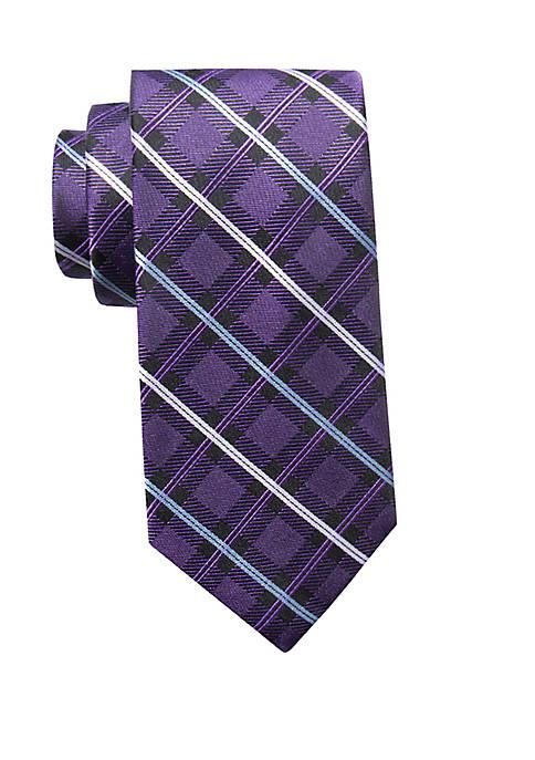 Wade Grid Neck Tie