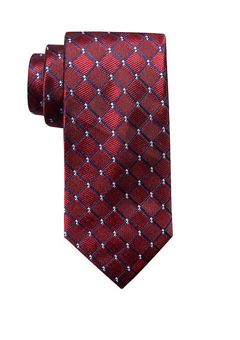 Saddlebred® Hale Grid Neck Tie