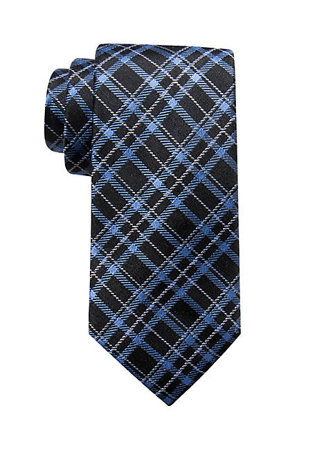 Saddlebred® Henri Plaid Print Neck Tie