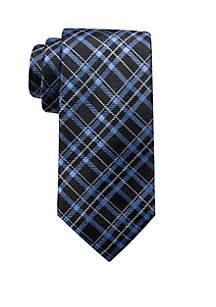 Henri Plaid Print Neck Tie