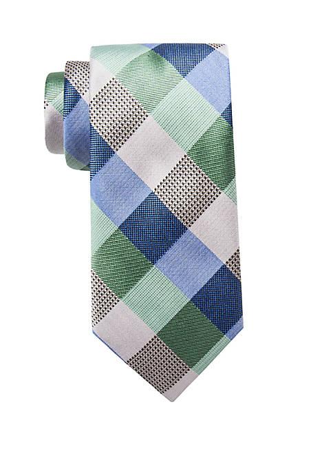 Flint Check Tie