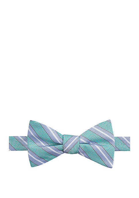 Saddlebred® Cyrus Stripe Bow Tie