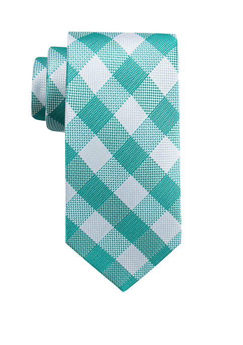 Malcolm Check Tie