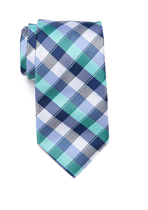 Crown & Ivy™ Octave Plaid Tie