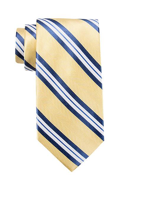Oriole Stripe Neck Tie