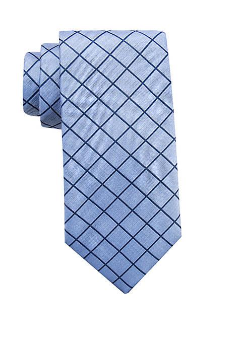 Saddlebred® Enfield Grid Necktie