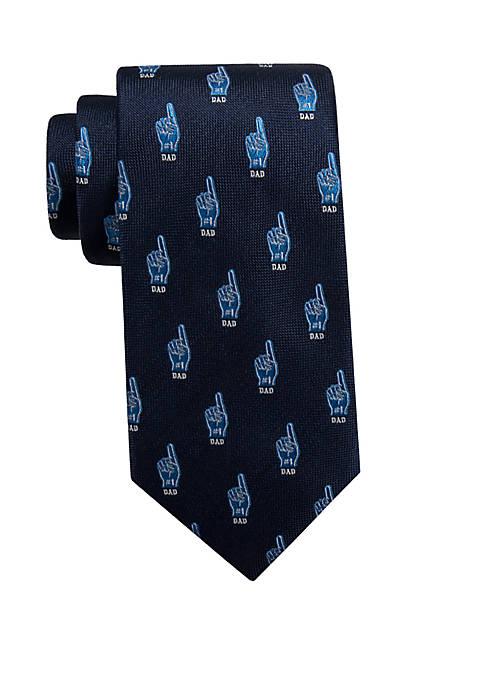 #1 Dad Necktie