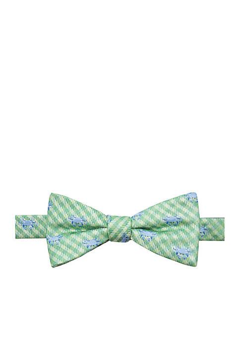 Saddlebred® Coastal Crab Bow Tie