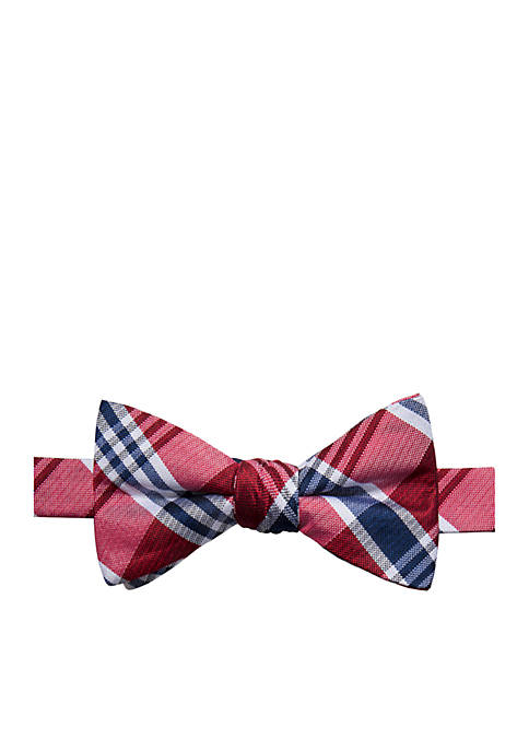 Saddlebred® Adrian Plaid Bow Tie