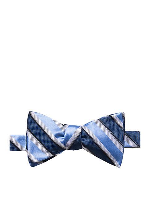 Saddlebred® Austin Stripe Bow Tie