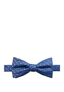 Wyn Medallion Print Bow Tie