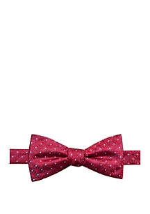 Saddlebred® Wyn Medallion Print Bow Tie