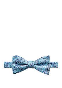 Hawes Paisley Print Bow Tie