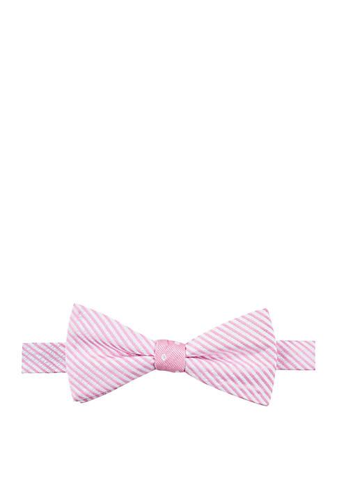 Reversible Stripe Polka Dot Bow Tie