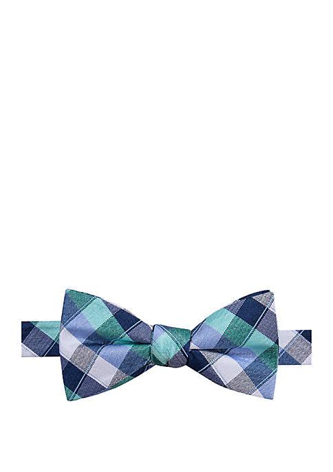 Saddlebred® Octave Plaid Bow Tie