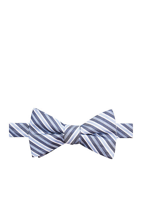 Saddlebred® Kevin Stripe Bow Tie