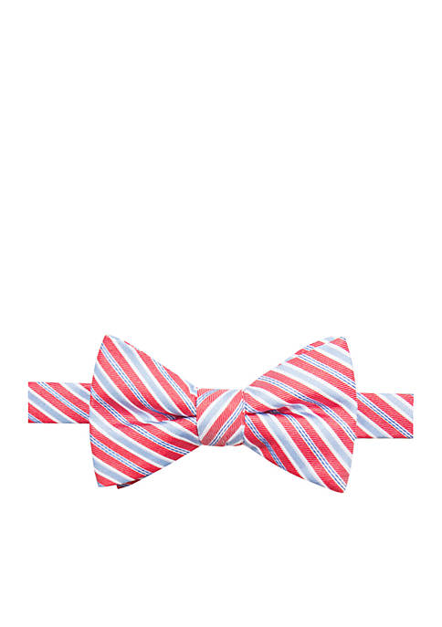Saddlebred® Kevin Stripe Bow Tie